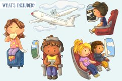 Airplane Travel Clip Art Collection Product Image 2
