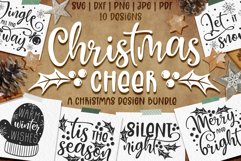 Christmas quotes SVG | Cut files | SVG PNG JPG PDF DXF Product Image 1