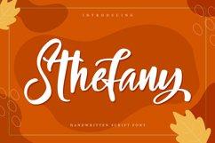 Sthefany   Handwritten Script Font Product Image 1