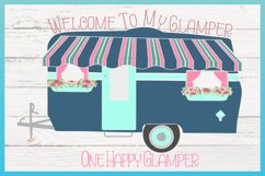Welcome To My Glamper Happy Glamping Camping SVG Product Image 3