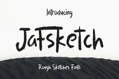 Web Font Jafsketch - Rough Sketches Font Product Image 1