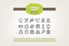 Hand Drawn Cooking Icons Product Image 1