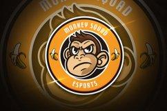 Monkey Squad - Mascot & Esport Logo Product Image 1