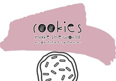 Cookie Monster - A Cute Handwritten Font Product Image 3