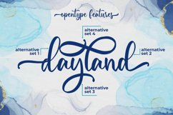 Maylena a Romantic Script Font Product Image 6