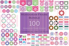 Monogram Frame Bundle - 100 Frames for Monogramming. Product Image 1