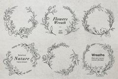 WILD FLOWERS Illustration Botanical Product Image 6