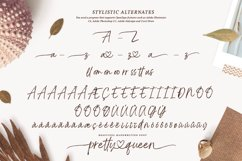 Pretty Queen Lovely Brush Font Product Image 4