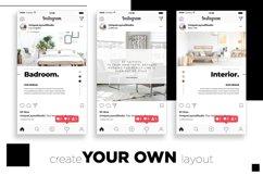 Interior Designer Instagram Posts Template | CANVA Product Image 6