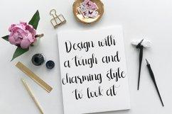 Multitalent Script Calligraphy Font Product Image 5