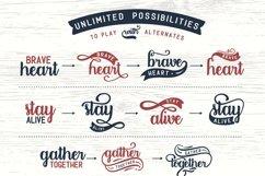 Designers font Bundle 11 Fonts Product Image 21
