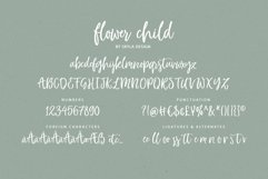 Whimsical modern brush font, Flower Child Product Image 5
