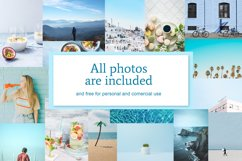 Blue | Pinterest PSD templates pack Product Image 5