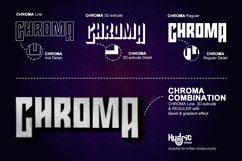 Chroma - Trio Gaming Font Product Image 2