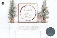 COLD SNOWFALL a Farmhouse Christmas Script Product Image 5