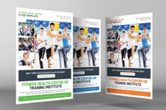 Fitness Training Center Flyer Product Image 3
