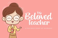 Beloved Teacher Product Image 1