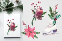 Christmas Watercolor compositions Product Image 3