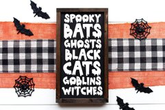 Yikes - A Dripping Halloween Font Product Image 2