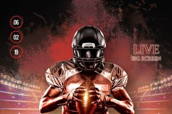 American Football Flyer And Poster Product Image 4