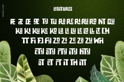 Zaba Zoo - Jungle Font with Text effect Product Image 3