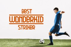 Football Attack Sport Font Product Image 5