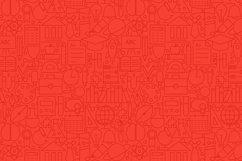 School & Education Line Tile Patterns Product Image 3