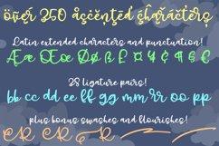 Gray Skies - handwritten script font Product Image 3