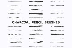 Pencil Charcoal Illustrator Brushes Product Image 3