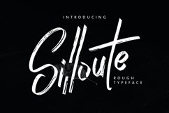 Silloute | Rough Style Script Product Image 1