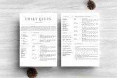 Resume Template CV Design Product Image 6