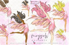 Fairy Girl Clipart PNG Product Image 1