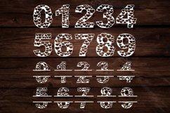 Papercut Heart Numbers Set, Numerical Monogram SVG Cut Files Product Image 3