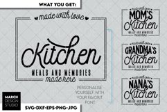 Kitchen SVG, Kitchen Quotes SVG, Kitcen decor SVG, Bless svg Product Image 2