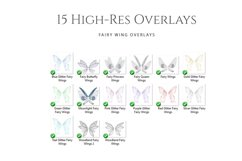Fantasy Fairy Wing Photo Overlays Product Image 2