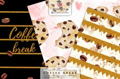 Coffee Beans Digital Patterns DP064 Product Image 4