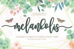 Modern Script - Melankolis Font Product Image 1