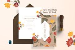 Leaf & Floral Wedding Suite Product Image 3