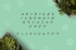 Web Font Herbie - A Flowery Font Product Image 6