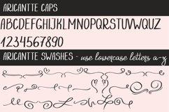 Aricantte - Handwritten Font Duo Product Image 6