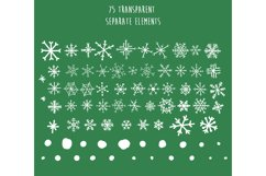 Christmas snowflakes Product Image 2
