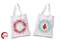 Reindeer clipart, invitation embellishments, graphics, illustrations AMB-1117 Product Image 2