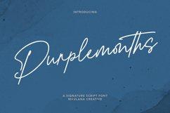 Purplemonths Signature Font Product Image 1