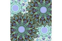 Boho flowers - mandala patterns Product Image 3