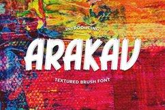 ARAKAV | TEXTURED BRUSH FONT Product Image 1