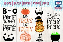 Halloween bundle svg, fall, october, witch, png, dxf Product Image 3