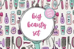 Big beauty vector set Product Image 1