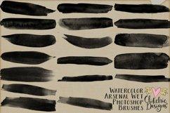 Photoshop Brushes - Watercolor Arsenal Wet Brushes Product Image 3
