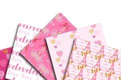 Love Digital Paper Product Image 2
