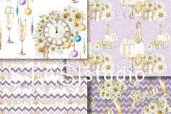 Party Watercolor Seamless Patterns Product Image 3